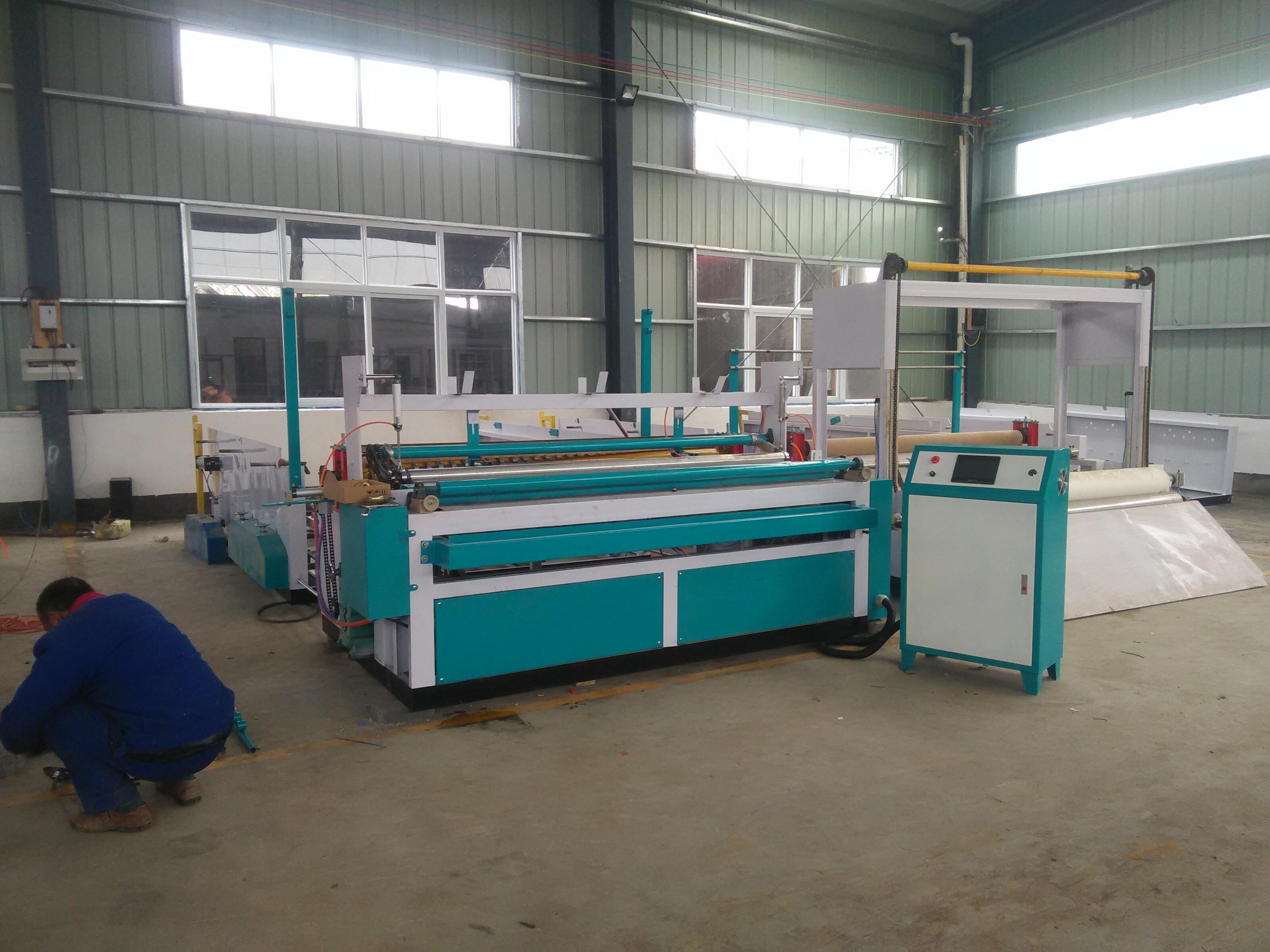 恭喜安徽阜阳宁先生购买万博体育投注加工设备和抽纸设备